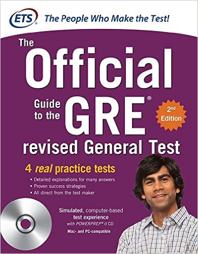 The best GRE textbook from ETS the makers of the GRE