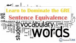 GRE Sentence Equivalence Course